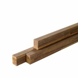 Podkladový hranol lepený, exotické dřeviny 38x58 mm