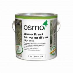 OSMO krycí barva na dřevo 2104, bílá barva na okna