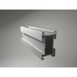 Podkladový hliníkový profil 9524 nosný 50x80 mm