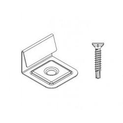 Počáteční a koncová spona 9481 pro WPC a dřevěné podkladní profily (10ks)