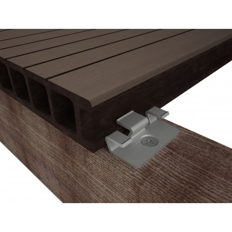 Nerezová spona 9479 pro WPC a dřevěné podkladní profily (100ks)