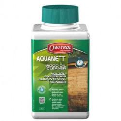 OWATROL AQUANETT - odstraňovač olejů a čistič dřeva